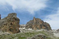 Picos rocosos Fotografía de archivo libre de regalías