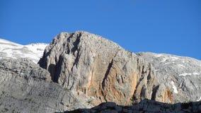 Picos rocosos Imágenes de archivo libres de regalías