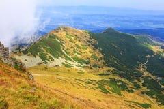Picos rojos, montañas de Tatra Fotos de archivo