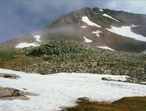 Picos sobre el lago en Wilson Range, San Juan Mountains, Colorado hope Fotos de archivo libres de regalías