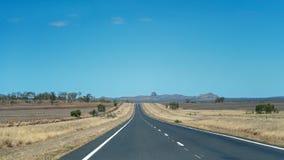 Picos volcánicos australianos imagen de archivo