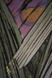 Picric syra under mikroskopet Arkivbild