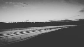 Pics озера Mary в az flagstaff Стоковые Изображения