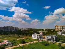 These pics clicked by mobile. Sky scape pics stock photo