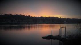 Pics di tramonto fotografia stock libera da diritti