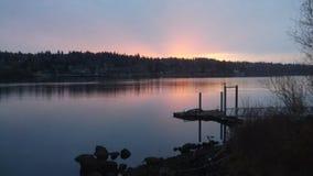 Pics di tramonto fotografia stock