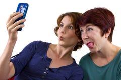 Pics do telemóvel Fotografia de Stock
