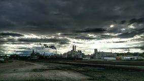 Pics um von der Stadt Stockbild