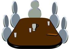 pictogram встречи Стоковая Фотография RF
