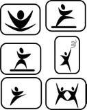 pictogram искусств выразительный Стоковое Изображение RF