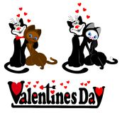 Pictogram aan de dag van de Valentijnskaart Stock Foto