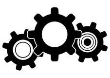 Pictogram het aanpassen systeem - Vector royalty-vrije illustratie