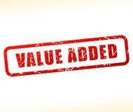 Pictogram op de toegevoegde waarde vector illustratie