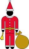 Pictogram of Santa Claus Stock Photos