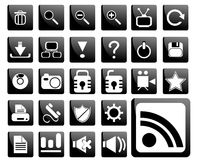 Pictogram set Royalty Free Stock Photos