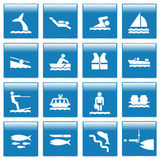 Pictogram set Stock Photography