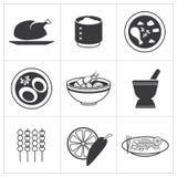 Pictogram Thais voedsel vector illustratie