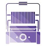 Pictogram van de keuken het elektrische grill Stock Afbeelding
