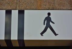 Pictogram van een het lopen mensenconcept Royalty-vrije Stock Foto's