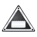 pictogram van hulpmiddelen het lege waarschuwingen stock illustratie