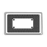 pictogram van hulpmiddelen het lege waarschuwingen royalty-vrije illustratie