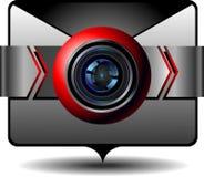Pictogram videoe-mail Royalty-vrije Stock Fotografie