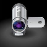 Pictogram voor camcorder Stock Foto