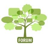 Pictogram voor forum Royalty-vrije Stock Afbeeldingen