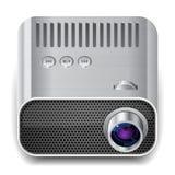 Pictogram voor projector Stock Afbeeldingen
