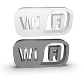 Pictogram wi-FI Royalty-vrije Stock Afbeelding