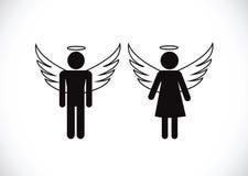Pictograma Angel Icon Symbol Sign ilustração stock