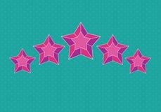 Pictograma de la estrella Fotos de archivo