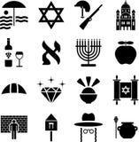 Pictogramas de Israel ilustración del vector