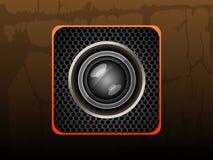 Pictogramcamera Royalty-vrije Stock Fotografie