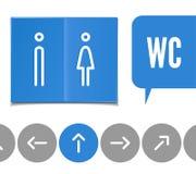 Pictogramme de carte de travail Image libre de droits