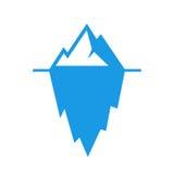 Pictogramme de vecteur de glacier Photo stock