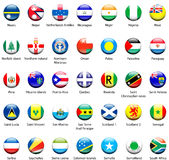 Pictogrammen 06 van de Vlag van de wereld royalty-vrije stock fotografie