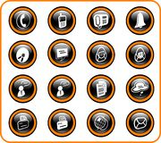 Pictogrammen Royalty-vrije Stock Foto's