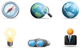 pictogrammen 4 van het pictogramWeb Royalty-vrije Stock Afbeeldingen
