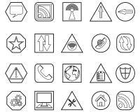 pictogrammen Stock Afbeeldingen