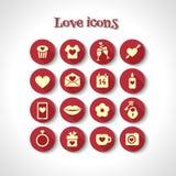pictogrammen Royalty-vrije Stock Afbeeldingen