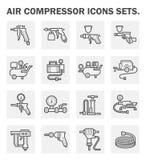 pictogrammen royalty-vrije illustratie