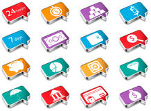 pictogrammen Stock Afbeelding