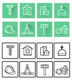 pictogrammen Stock Foto