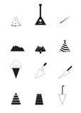 pictogrammen Royalty-vrije Stock Fotografie