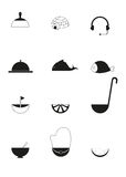 pictogrammen Royalty-vrije Stock Afbeelding