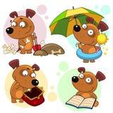 Pictogrammen met hondendeel 32 royalty-vrije illustratie
