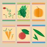 Pictogrammen van Landbouw Stock Foto's