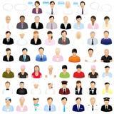 Pictogrammen van Mensen Royalty-vrije Stock Afbeelding
