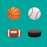 Pictogrammenballen Stock Foto's